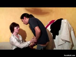Abuelita anal trío, gratis madura porno vídeo 51