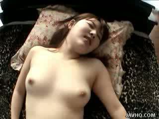 Yumi aida's ใช้ปากกับอวัยวะเพศ สำหรับ champs