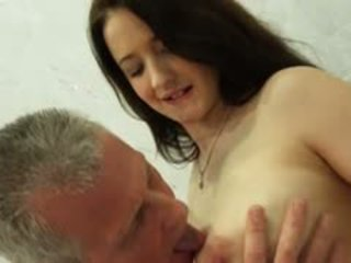 Busty Teeny Tease Oldman To Get Fucked In The Morning