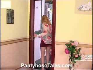 Vivian dhe peter çorape të gjata qij vid