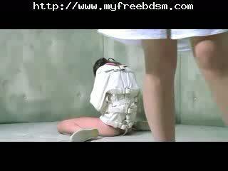 Amber anale schiavo 1bdsm bondage schiavo dominazione femminile dominazione