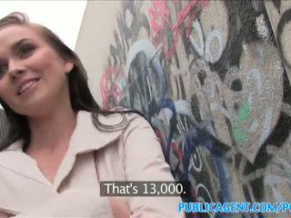 Publicagent heiß mieze fucks stranger im alleyway - porno video 961