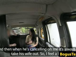 Brit taxi sidebitch futand cabbies pula, porno 7d