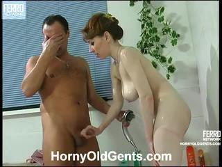 hardcore sex, marina, yaşlı genç seks