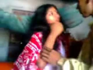 Indisk newly gift guy trying zabardasti til kone veldig sjenert
