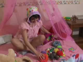 ABDL ladies diapered Lyla