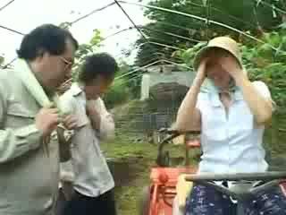 Asiatisk landsby kvinne gets misbrukt video