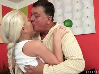 hardcore sex, oralinis seksas, blondinės