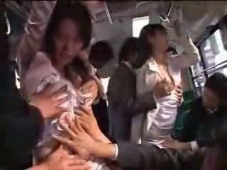 日本语 女孩 强 上 火车
