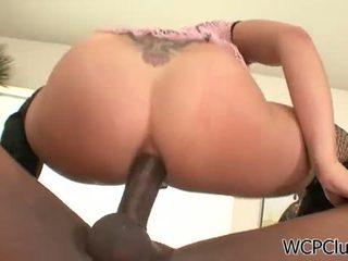 bruneta, velký péro, assfucking