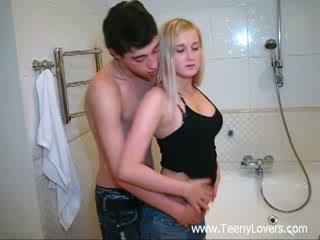 חתיכה lovers ב the bath