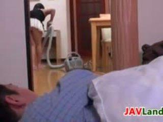 Японська домогосподарка pleasuring її чоловік