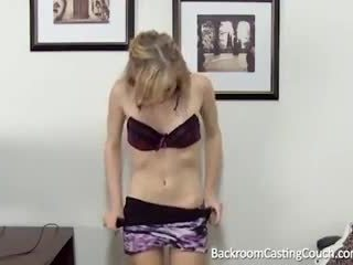 Barely Legal Anal & Creampie Casting