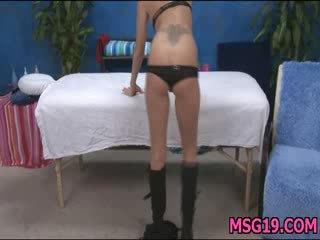 Gir gets an booty massage