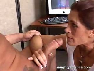 Nasty Brunette Aria Stuffs Her Mouth With A Snake Like Cock