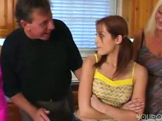 Old step dad seduced young cute rumaja daughter