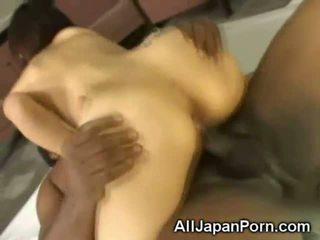 Japonské creampied podľa a čierne!