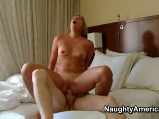 Hot mature blonde milf sexy suz fucks ...