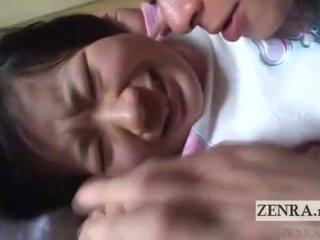 اليابان تلميذة licked كل خلال english subtitles