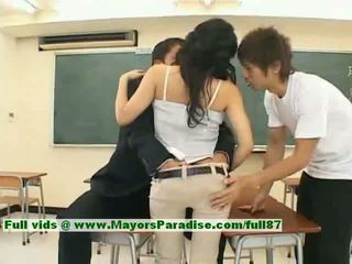 Sora Aoi Innocent Sexy Japanese Studen...