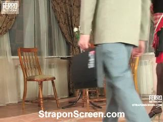 Irene And Patrick Strapon Shag Movie