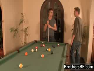 Brothers sexy boyfriend gets dong suck...