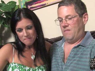 Manžel watches pair oustanding černý zonkers bump jeho manželka v tento paroháč band penetrate