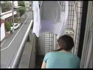 japonês, dona de casa, milf