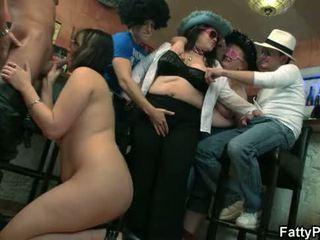 sex party, bbw gangbang, bbw group