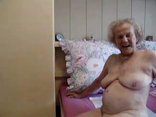 starý, stále, babička