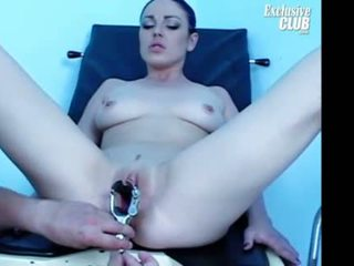 Shandi getting her pussy gyno speculum...