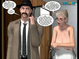 caricaturas, 3d comics
