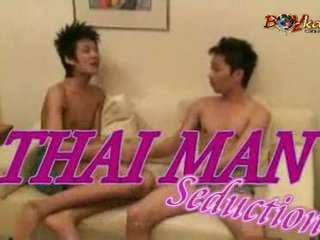 Thai Straight Chap Gets Seduced By Two Horny Twinks