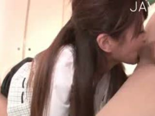 brunette, japanese, blowjob