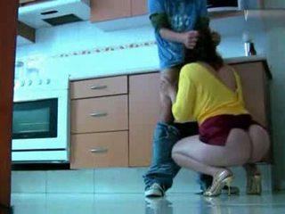 Chantage chaud mère vidéo