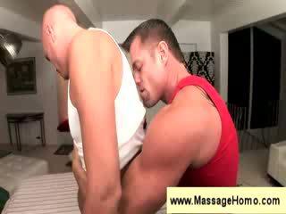Troy Michaels gets a sensual massage
