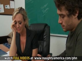Student And Teacher Xander Corvus, BRAndi Love