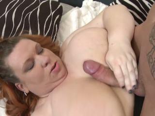 Big Busty Mom Seduce Skinny Young Son, HD Porn e8