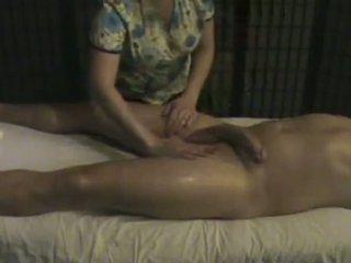 按摩 学院 masseuse takes 关怀 的 一 大 whi
