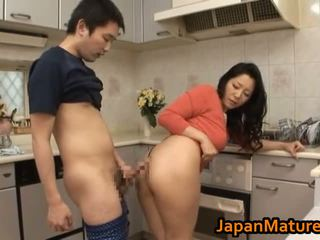 japanese, mature, kitchen
