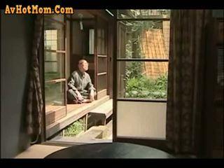 giapponese, papà, figlia