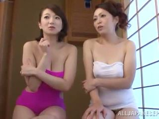 Luscious gündogarly milfs give a playing and a bj
