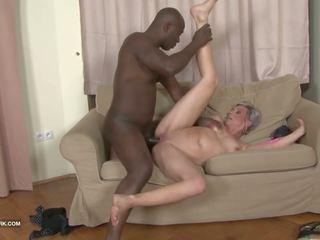 Teasing 緊 的陰戶 膚色 粗 黑色 肛門 他媽的
