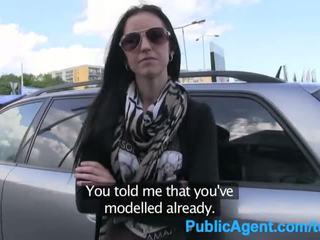 Publicagent ex модель sucks і fucks великий пеніс для отримати назад в the бізнес