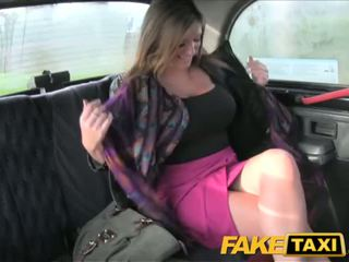 FakeTaxi Big tits babe takes it from behind - Porn Video 591