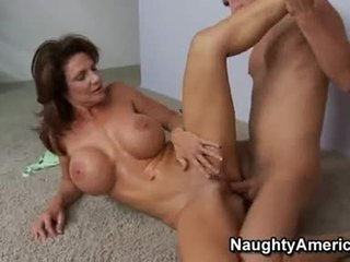Busty TAnned MomMa Deauxma Merits The Ejaculation That Babe Gets After A Nice Bang