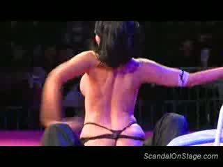 Big Juggs stripper teasing sex
