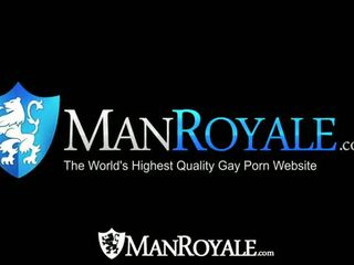 HD - ManRoyale Cock sucking and ass fucking