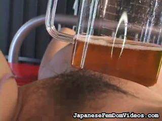 선택 의 놀랄만한 클립 부터 일본의 여왕 님 영화 에 속박, 지배, 사디즘, 마조히즘 포르노를 niche