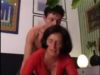 Giving oma ein gut schwer dicking !